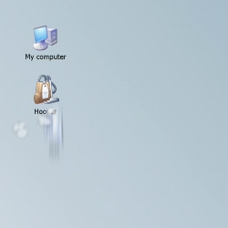 Files you want to delete get sucked into the desktop vacuum cleaner by Hoover. This application replaces your pc's dustbin.