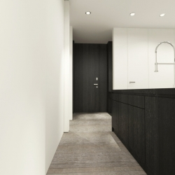 From the offices of Tadler Design, this interior for a Long Island apartment is clean cut, minimal, & beautiful.