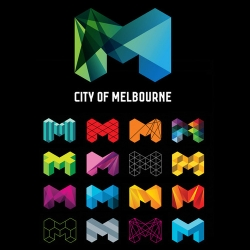 This brand identity for the City of Melbourne really caught my eye.
