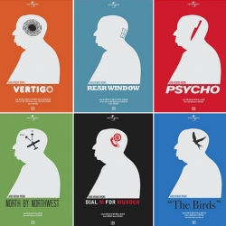 Hitchcock Prints from Needle Design