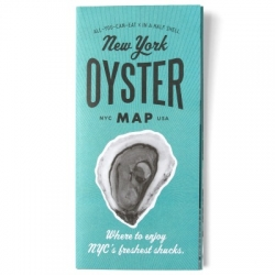 The New York Oyster Map features 30 great places to slurp the freshest shucks in the city, curated by oyster expert and bivalve blogger Julie Qiu of In A Half Shell. There are also Diner, Burger, and Ramen Maps!