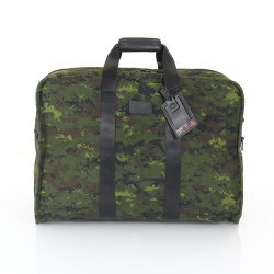 "TUMI Alpha Collection gets militant for Autumn 2009 with two pieces of luggage for those in the 'urban battlefield'.  ""The digital camouflage print is applied to ballistic nylon creating the ultimate statement in utilitarian style…"""