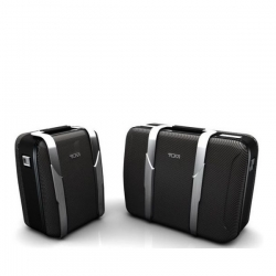 Lexus collaborates with luxury luggage company Tumi, offering travel luggage for the new 2012 Lexus LFA supercar.