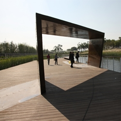 Shanghai Houtan Park by Turenscape won best landscape at the World Architecture Festival in Barcelona this year.