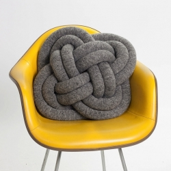 Knots have been tied for thousands of years for fun, use, decoration and now as a pillows.