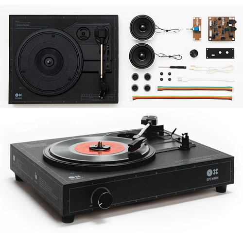 Build your own turntable in under 18 minutes with Spinbox: The DIY portable turntable concept will also include a built-in amp and speaker.