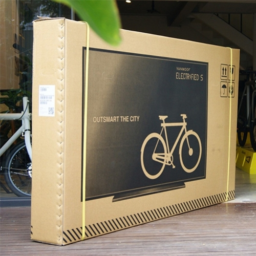 Vanmoof Bicycles found that delivery services treated tv boxes far better than boxes that clearly contained bicycles, so they printed tvs on their boxes. The idea was so popular, they now sell the boxes (with a free bike.)