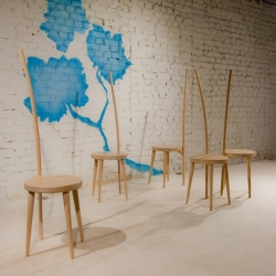 up coming product design brand ilio's 2009 collection will be on display at Zona Tortona, via Forcella 11 during Milan Design Week. ilio is inspired by forms of nature, adopting a playful yet functional approach to present new forms.
