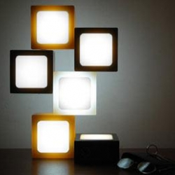 Glide's Twist-Together LED Lights. LED Legos...on steroids [editor's note: also featured in #4011]
