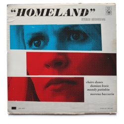 Ty Mattson has created a stellar series of Homeland-inspired vintage jazz record covers.