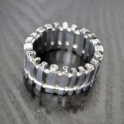 Bracelet made from metal type!