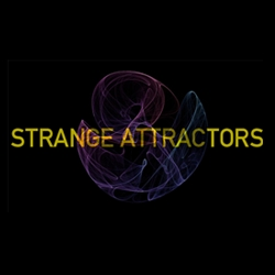 Strange Attractors is a 36-page book that helps people understand its underlying concepts by introducing them to beautiful, mathematically-generated visuals. By Justin Edmond.