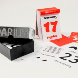 The Typodarium 2013 is out. Enjoy another 365 days with brand new typography.