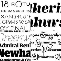 For designers and other type addicts, Typografica.org just released a list of their 23 favorite fonts of 2006