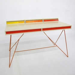 'Subduction desk' by the French cabinetmaker  Paul Venaille.