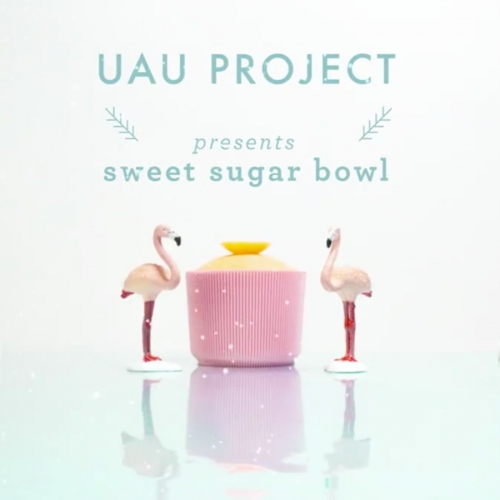 Sweet Sugar Bowl starts a collection of 7 simple tableware products for anyone to print. Designed by Polish studio UAUProject.