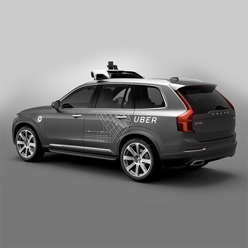 """Uber's First Self-Driving Fleet Arrives in Pittsburgh This Month: The autonomous cars launching this summer are custom Volvo XC90s, supervised by humans in the driver's seat."" in Bloomberg"