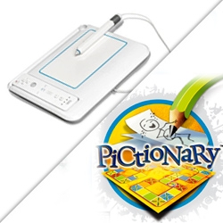 'UDraw' remote gametablet lets you play Pictionary / get creative on your Wii.
