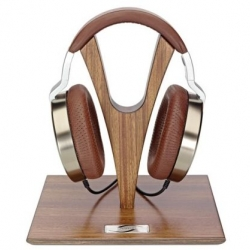 The Edition 10 headphones come housed in a wooden box complete with a handcrafted Zebrano wood headphone stand.