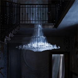 Giancarlo Tintori's stunning Uma Chandelier is part of a new collection from Nemo Cassina.
