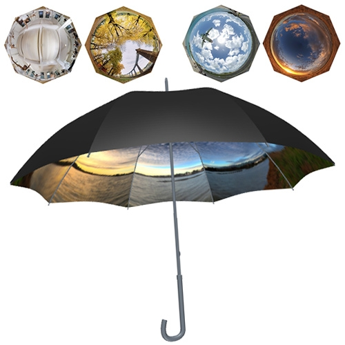 Panorella - custom panoramic 360° photo umbrella.