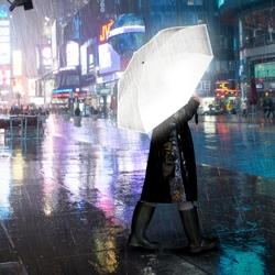 Suck Uk's Hi-reflective Umbrella: Be bright, be seen at night.