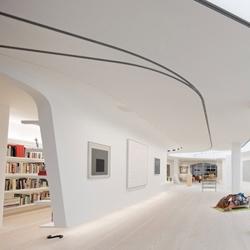Great loft design by UNstudio foran existing loft located in Greenwich village, Manhattan.