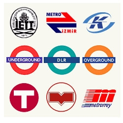 Variations of the Letter M... and Other Metro Logos of the World