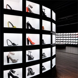 United Nude opens a new store in London's Covent Garden. Stunning interior.