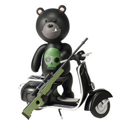 One of the IWG's (Insurgent Wilderness Gruppo) Special Edition Exclusives for SDCC 2007! Cute vespas, dangerous creatures.