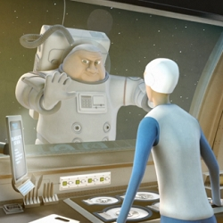 Un petit plat pour l'homme is a short 3D animation film  by Corentin Charron from Supinfocom Arles about cooking in space.