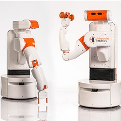 Unbounded Robotics has unveiled the UBR-1 Robot, a manipulation platform designed for robotics researchers and businesses. The robot arm can be programmed to do various tasks and respond to the environment.