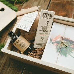 The Maker Gift Set - the best from some of Colorado's finest makers in this holiday gift box, from Azure.