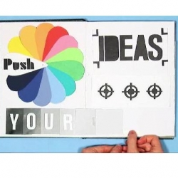 Push your ideas! See this video for your daily dose of inspiration.