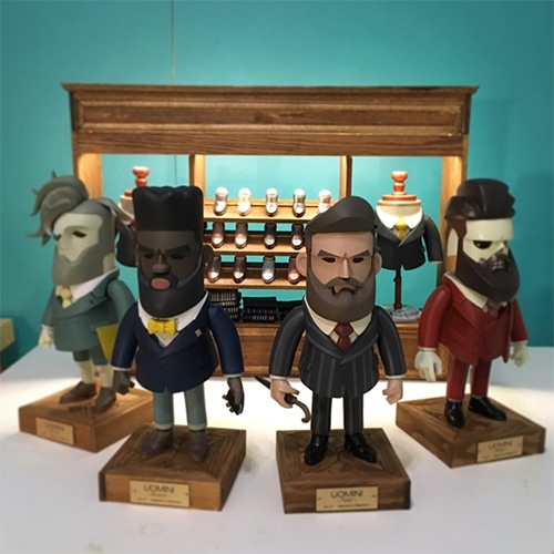 RastaMoon's UOMINI are dropping soon! Such adorably dapper, bearded gents with all the tailor shop details beautifully designed as well!