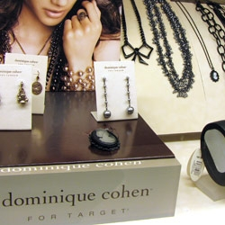 UPDATE ~ added images of the packaging/displays for the Target Dominique Cohen Collection.