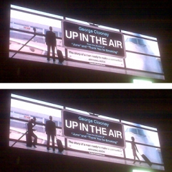 "Smart advertisers from ""Up In The Air"" is leveraging the new technology platform and creating some pretty impressive stuff!"