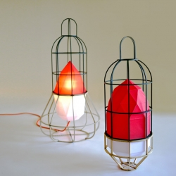 Urban Camper Lighting is the most recent work of  Chieh-Ting Huang shown at London design week 2011.