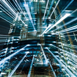 Urban Zoom by photographer Jakob Wagner is a series of long exposure photos while zooming. The hyper-speed results are amazing.