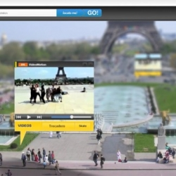 """Great project """"Urban Dive"""" by Pages Jaunes including augmented reality, immersive view and widgets."""