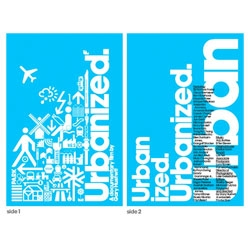 The official Urbanized poster, designed by Build.