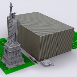 U.S. Debt envisioned in $100 bills