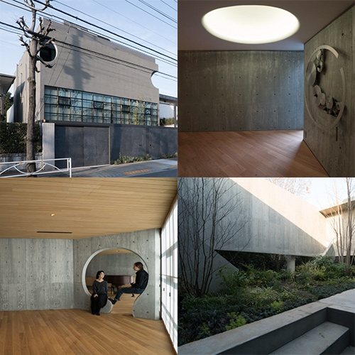 Oh House in Tokyo by CW&T and Point