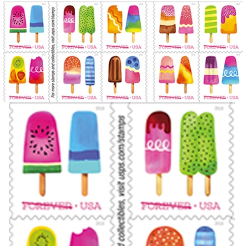 USPS goes scratch and sniff with these upcoming Ice Cream Stamps!