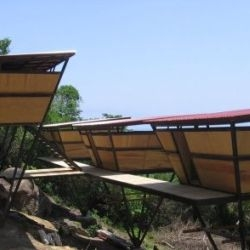 Verana, a fabulous resort located in a remote area on the Mexican Pacific coast, recently completed their V Houses, inspired by Jo Scheer's Treehouse 'Hooches'. I want me a hooch!