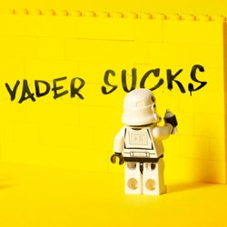 Amazing prints for Lego Star Wars created by young art director at the Sao Paolo Advertising School Escola Cuca.