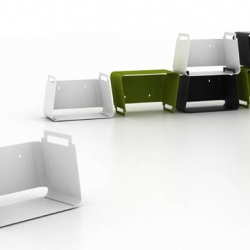 modular shelves /container system by mikko laakkonen