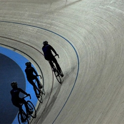 The first venue of the 2012 Olympics has been completed, it's a velodrome with a track made from Siberian Pine.