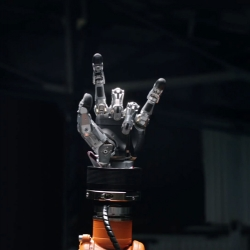 One year later (#56963) after losing against the champion Timo Boll  in table tennis, KUKA robot asked for revenge. See the different kind of challenge, for both, with the new and surprising set of rules.