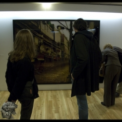 Yesterday was the Paris Photo 08's private view at Le Carrousel du Louvre in Paris.
